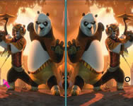 Kung Fu Panda 2 spot the difference online játék