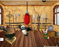 Kung Fu Panda training room decor játék