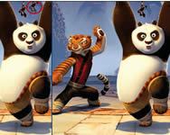Panda and friends difference Kung Fu Panda játékok ingyen