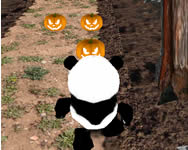 Panda jungle run 3D játék